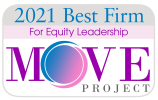2021 Best Firm for Equity Leadership - MOVE Project