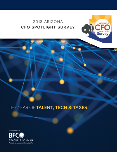 Download the 2017 Arizona CFO Spotlight Survey Results