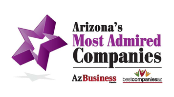 award: Arizona's Most Admired Companies