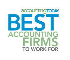 award: AccountingToday's Best Accounting Firms to Work For
