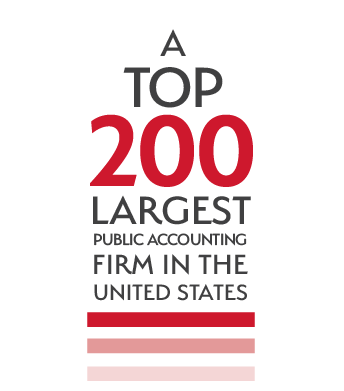 A top 200 largest public accounting firm in the United States