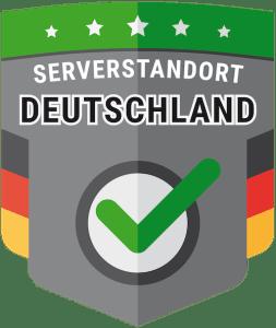 Serverstandort der Vermietsoftware in Deutschland