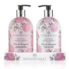B&H Royale Bouquet Rose 2 Bottle Set (Hand Wash & Lotion)