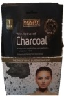 BEAUTY CHARCOAL BUBBLE MASK 18 stk @