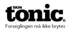 SkinTonic klistremerker store 32x15mm forsegl