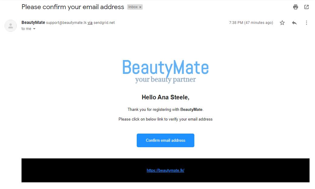 Register email