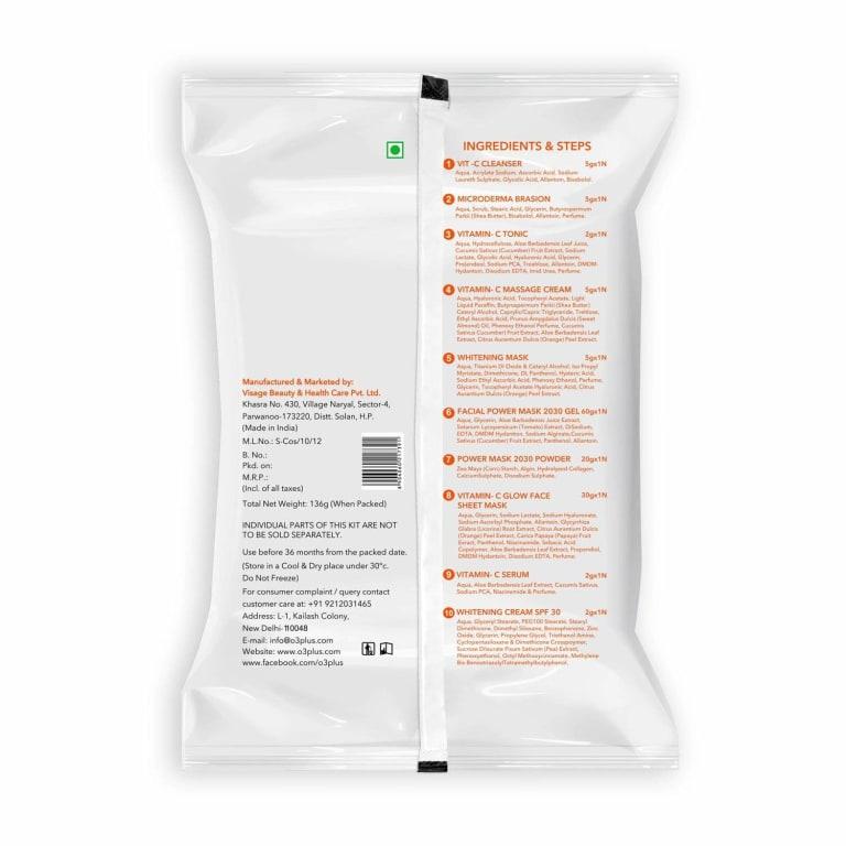 O3 Bridal Facial Kit Vitamin C 13