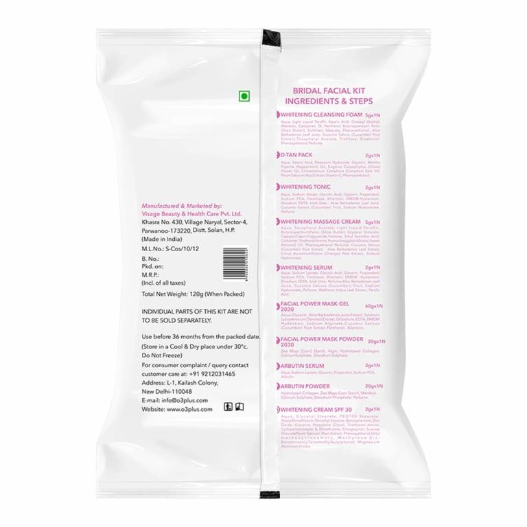 O3 Bridal Facial Kit Vitamin C 4