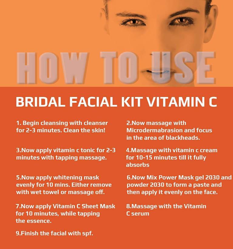 O3 Bridal Facial Kit Vitamin C 10