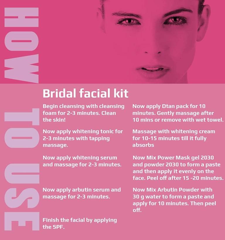 O3 Bridal Facial Kit Vitamin C 6