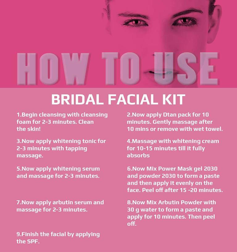 O3 Bridal Facial Kit Vitamin C 3