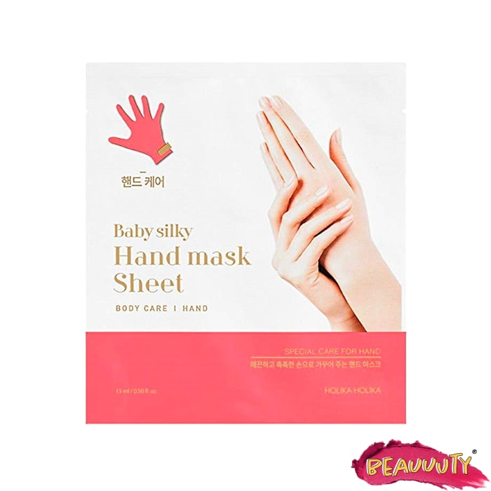 Baby Silky Hand Mask Sheet 2x30ml