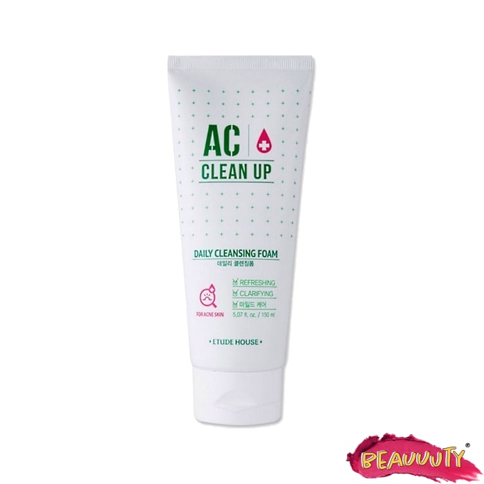 AC Clean up Daily Cleansing Foam 150ml