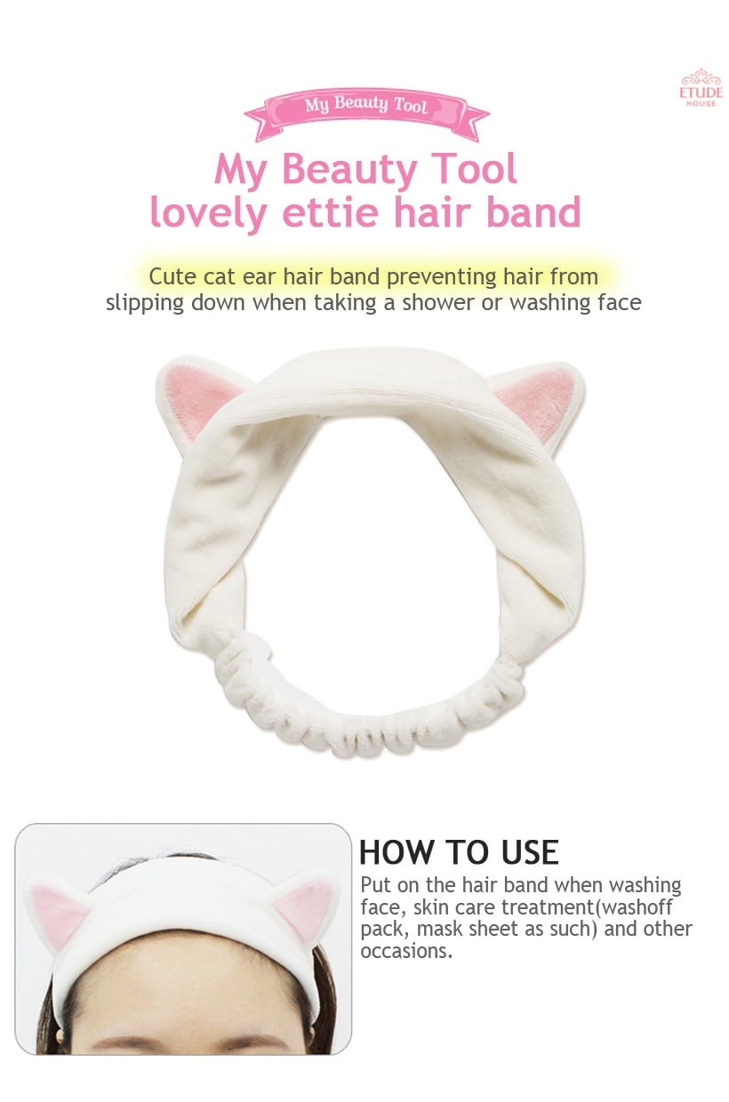 My Beauty Tool Lovely Etti Hair Band x1 How to use