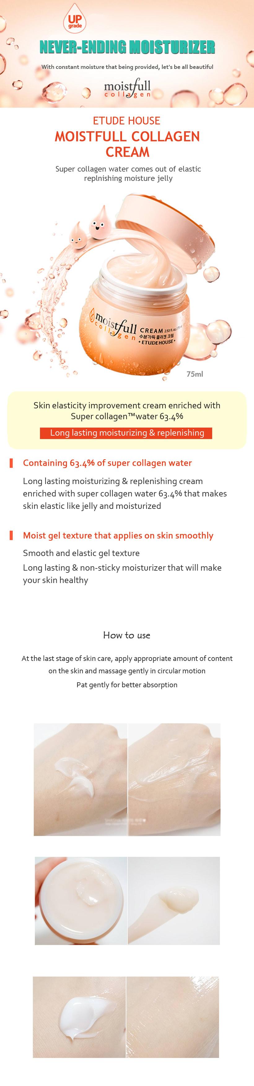Moistfull Collagen Cream 75ml How to use Description Ingredients