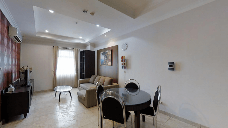 for rent The Bellezza Suites - Stylish apartment close to the prestigious Senayan City shopping center