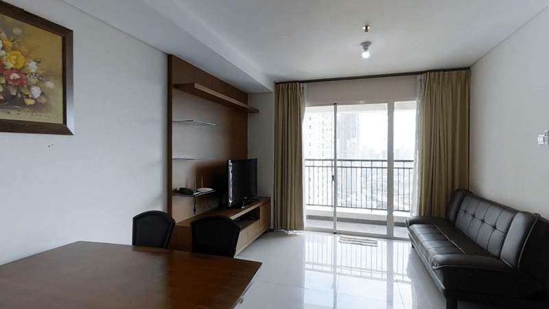 for rent Thamrin Executive Residence - 2 bedroom apartment in best location of central Jakarta
