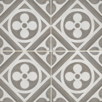 Chaeteau Canvas Smoke Decorative Tile