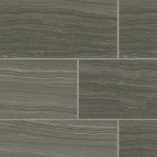 "Highland 18""x36"" porcelain tile in Dark Greige"
