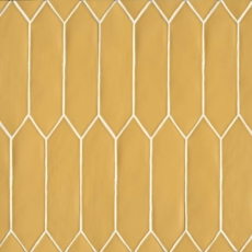 Reine 3x12 ceramic wall tile in Golden