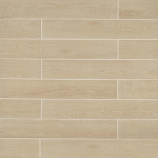 Woodmark 6x36 wood-look porcelain tile in Light Oak