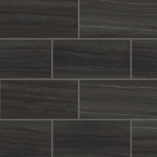 Highland 12x24 porcelain tile in Black