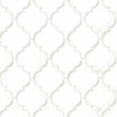 Provincetown Arabesque mosaic in Porch White