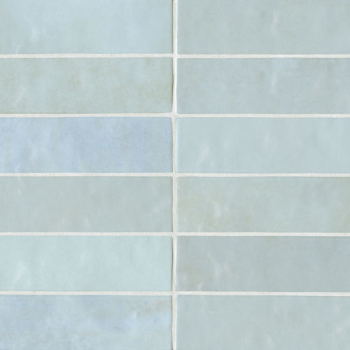 Cloe 2.5x8 ceramic wall tile in Baby Blue