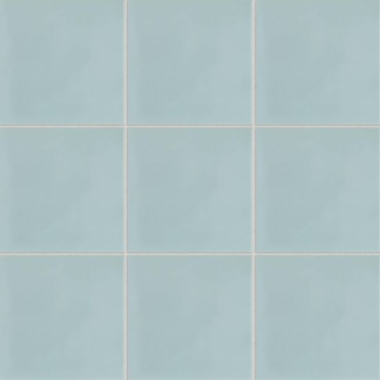 Remy 8x8 cement tile in Wedgewood Blue