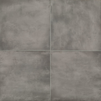 Chateau 24x24 porcelain cement-look tile in Smoke