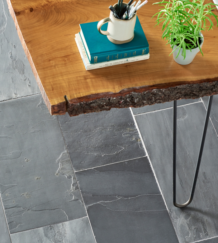 Andhra Black slate - 12x24 floor & wall tile