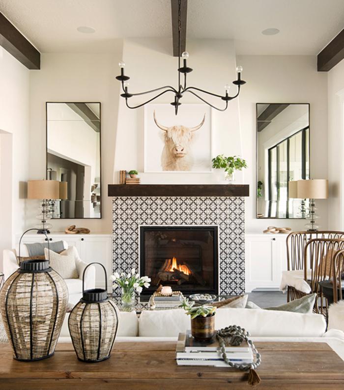 Hot Fireplace Tile Trends Bedrosians Tile Stone