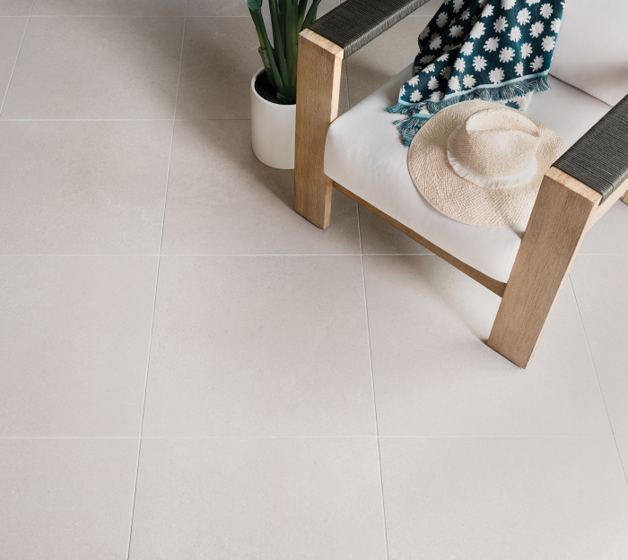 Reefstone in White Coral 24x24 Porcelain Tile