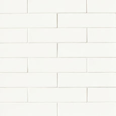 Costa Allegra 3x12 ceramic decorative tile in White Sand