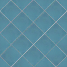 Remy 8x8 cement tile in Cobalt