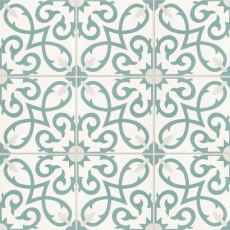 Remy cement tile in Oasis