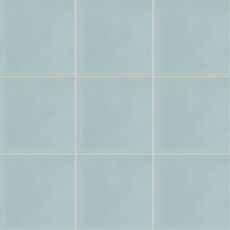 Remy cement tile in Wedgewood Blue