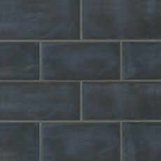 Chateau 4x8 ceramic wall tile in Ocean