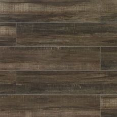 Forest 8x36 wood-look porcelain tile in Black