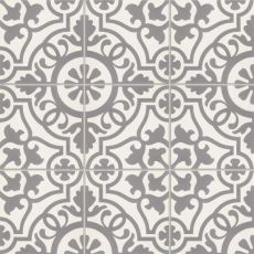 Remy 8x8 cement tile in Damsel