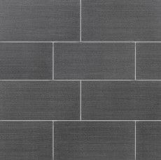 Strands 12x24 porcelain tile in Black