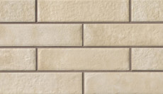 Urbanity 2.5x10 porcelain tile in Sand