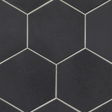 Costa Allegra 8in porcelain hexagon tile in Riverway