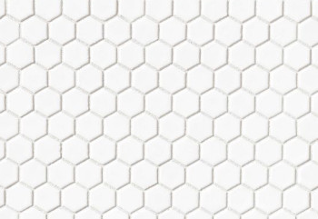 Le Cafe porcelain 1x1 hexagon mosaic
