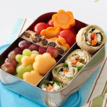 Lunch Box Chicken Wraps