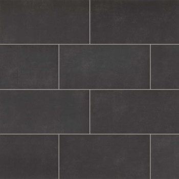 Metro Plus 12x24 porcelain tile in Deep Space