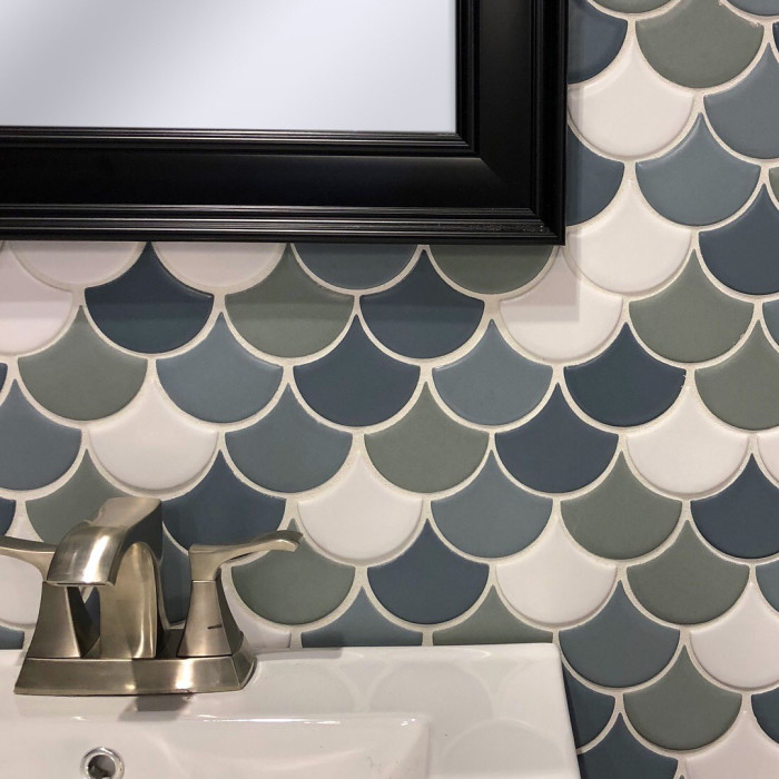 Costa Allegra Wave Mosaic in four colors