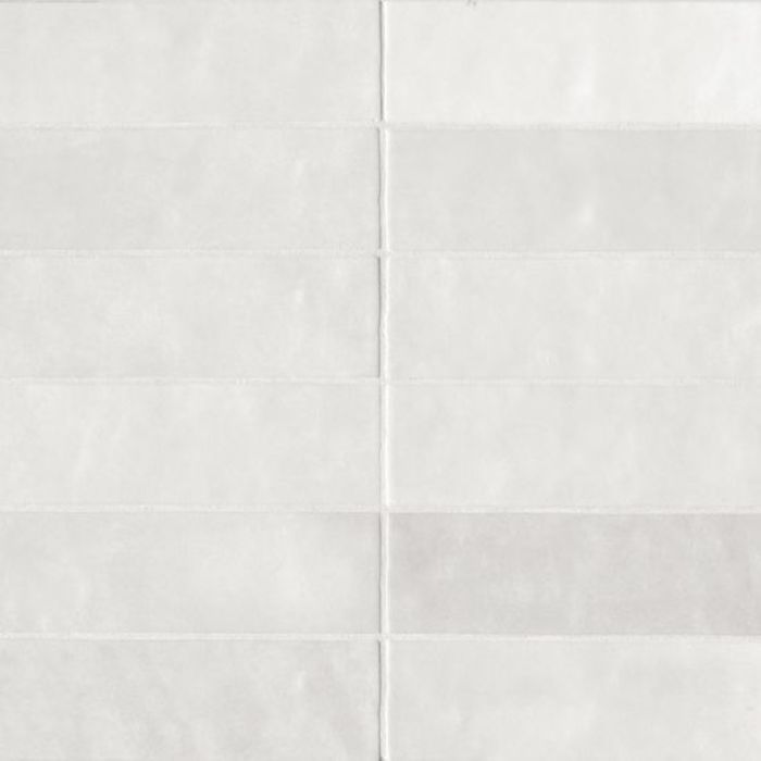 Cloe 2.5x8 ceramic tile in White