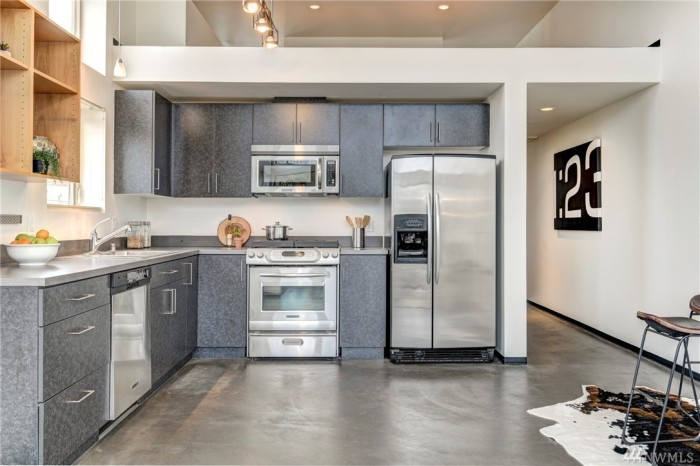 Concrete Floor | Source: Urban Living and Matrix Real Estate