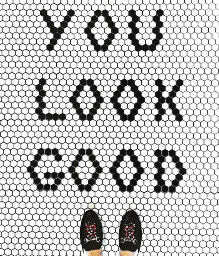 Some posts share inspiring messages-You Look Good